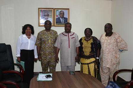 Visit to University of Abuja