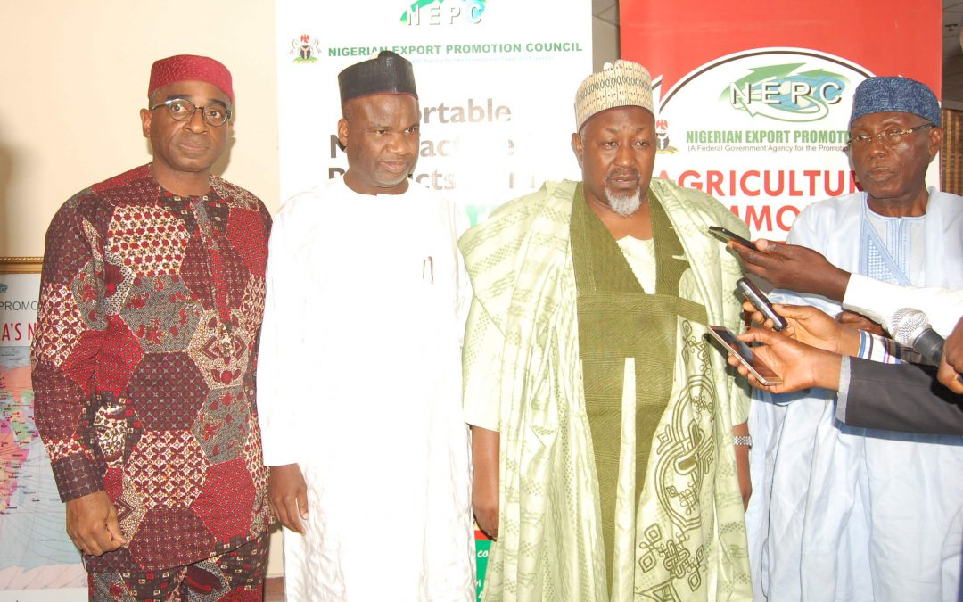 Inaugural meeting of the National Committee on Export Promotion (NCEP) in Abuja