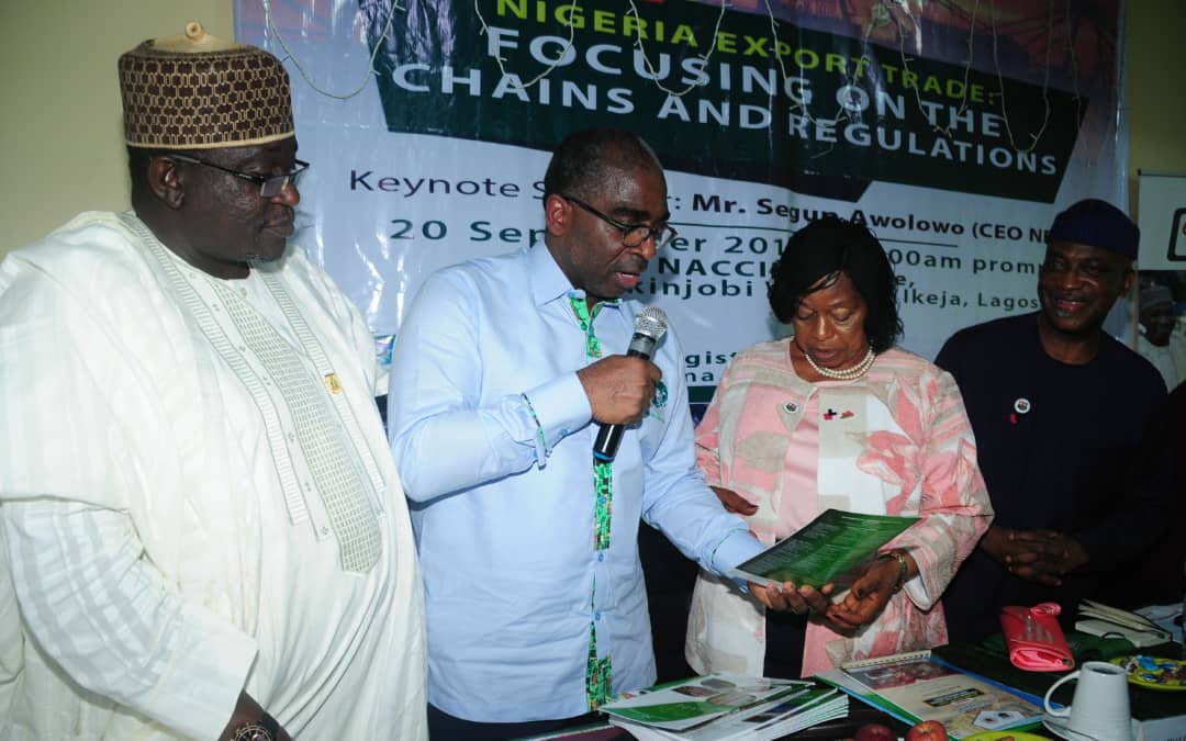 """Export Promotion Conference """"Nigeria Export Trade: Focusing on the chains and Regulations"""" in Lagos on 20/9/2018"""