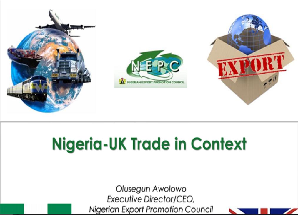 ED/CEO Nigeria- Uk Trade in context presentation