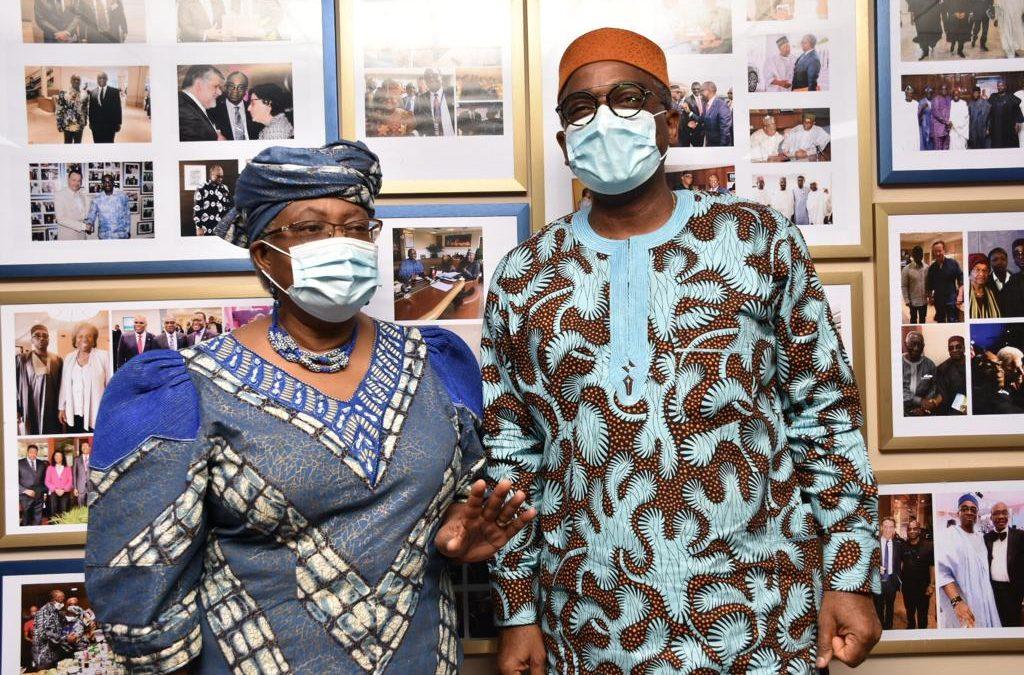 ITC-NEPC HOSTS DG WTO DR. NGOZI OKONJO-IWEALA AT ROUNDTABLE ON SHE TRADES, SMALL AND MEDIUM ENTERPRISES & EXPORT
