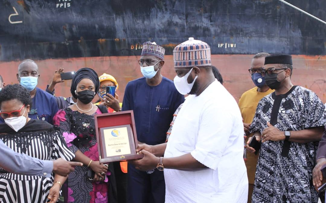 HISTORY MADE AS 7,000MT OF COCOA LEAVES CALABAR PORT